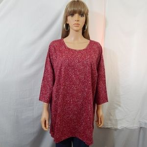 NWOT Woman Within 26/28 2X Top Shirt Blouse NEW